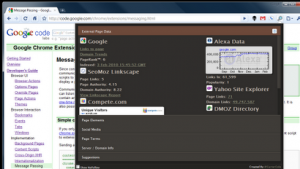seo site tools pagerank for google chrome